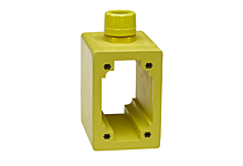 """Safeway® Multiple Outlet FS/FD 2-Sided Box, 4-1/4"""" Deep, F3 (3/4"""") Cord Grip Body"""