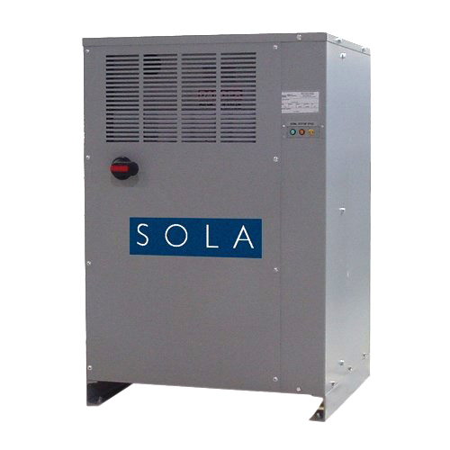 Solatron Plus Series Three Phase Power Conditioners, Standard: UL (Canada and US), UL 1012, CSA C22.2 No. 125, Output: 30kVA, Vac Input 480, Vac Output 480Y/277, 60 Hz