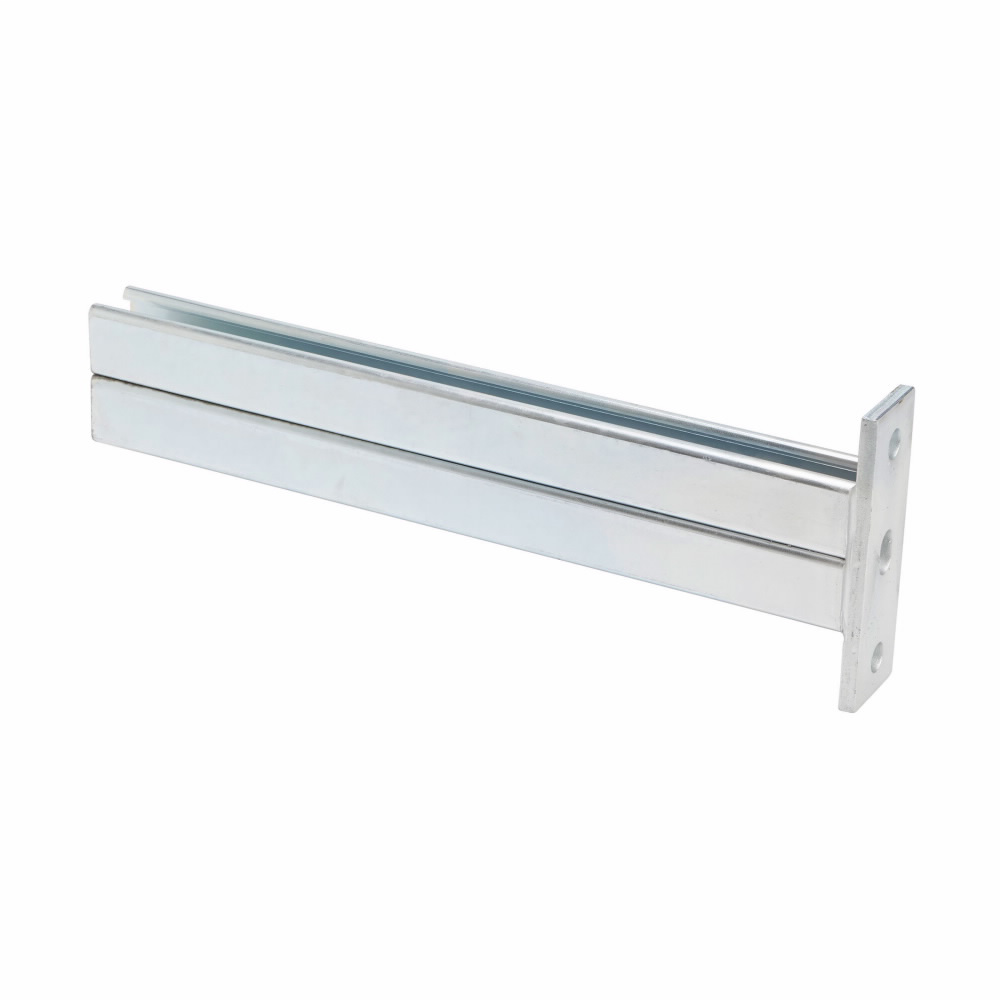 DOUBLE CHANNEL BRACKET, 24-IN., ZINC PLATED
