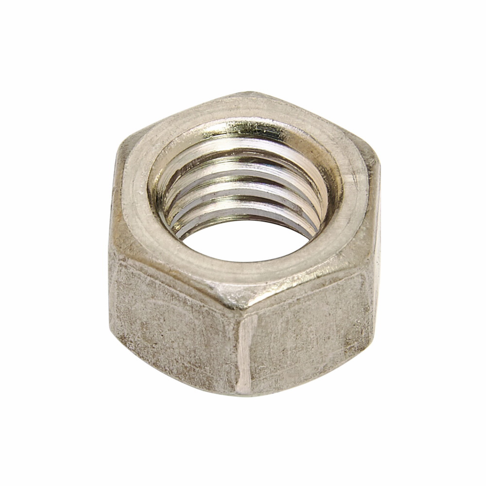 HEX NUT, 1/2-IN., ZINC PLATED