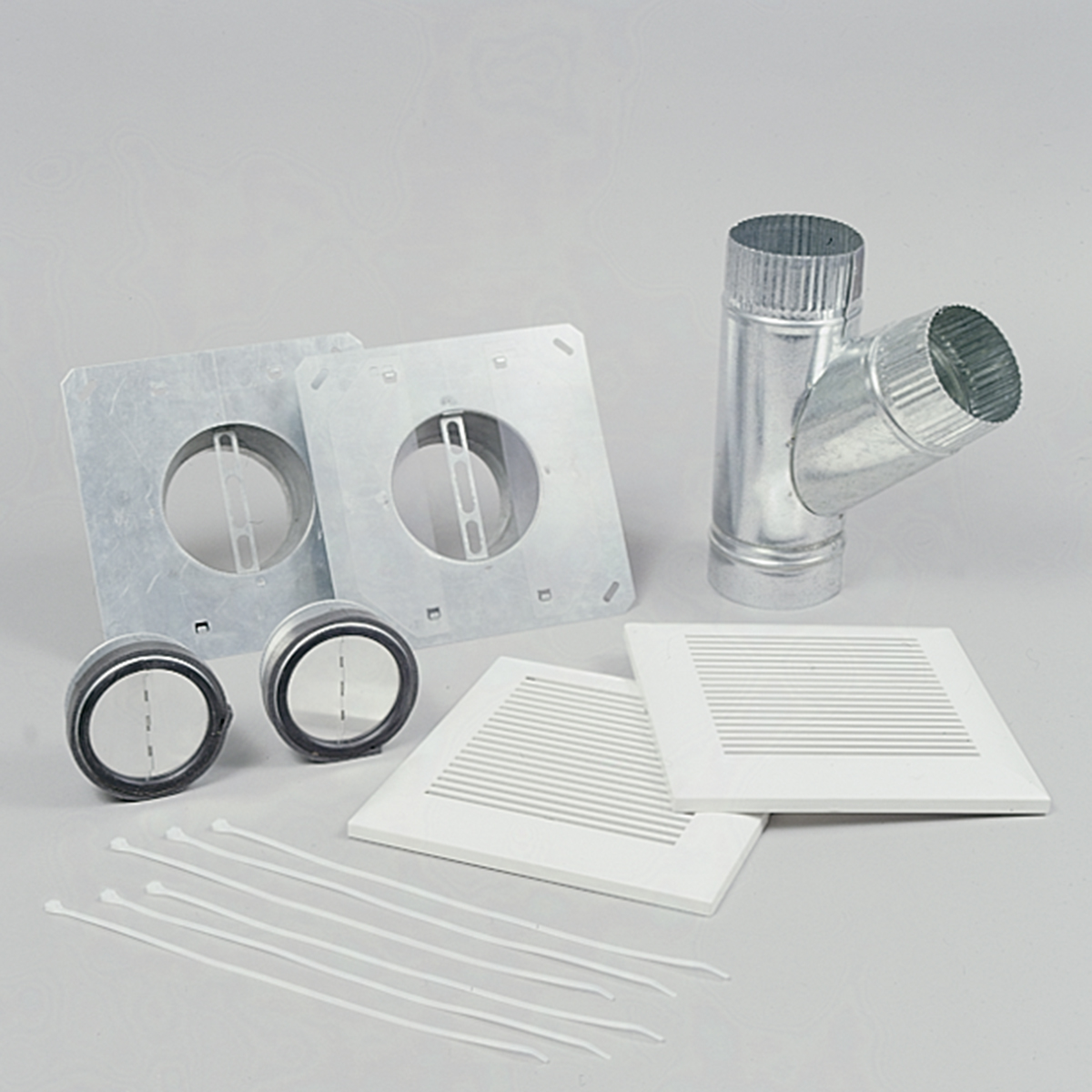 """WhisperLine Installation Kit, Double Inlet Kit for 6"""" Ducts, Designed Exclusively for WhisperLine Ventilation Fans"""