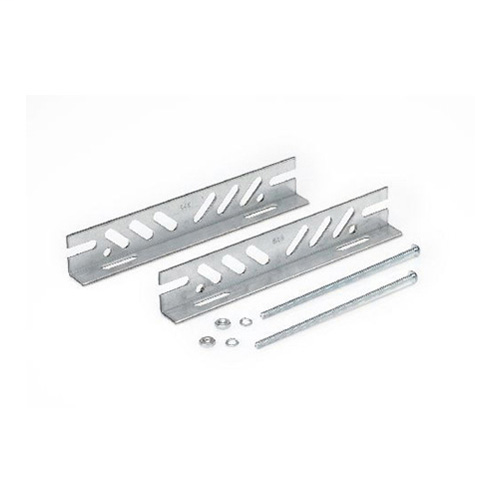 MOUNTING BRACKET KIT, (2) THROUGH BOLTS, (1) MOUNTING BRACKET KIT, USED ON 71A SERIES CORE AND COIL BALLAST, SIZE: MED/LG