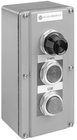 800T Selector Switch Station, 3 Positon Surface Mounting