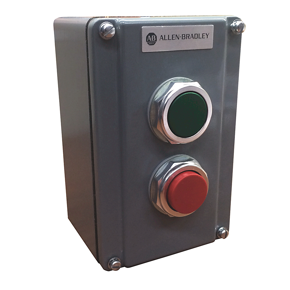 800T Assembled Station Surface Mount, Two Push Buttons
