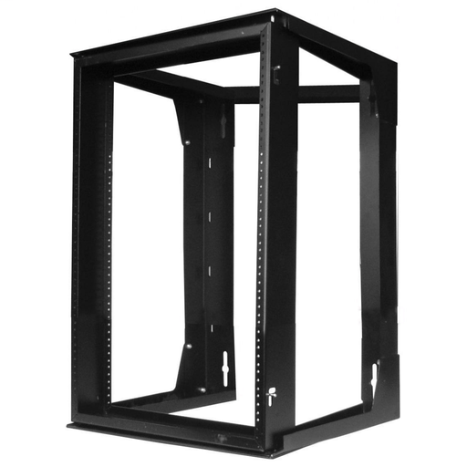 Mayer-Mounted Zone Cabling Enclosures and Brackets, Wall Mounted Rack, HPWWMR24-1