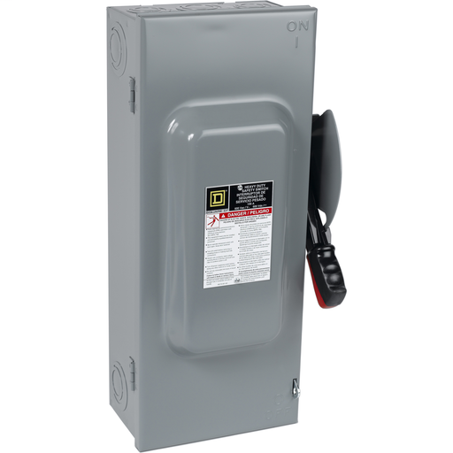 Mayer-100A 3P Type1 600VAC/DC Heavy Duty Non-Fusible Safety Switch-1