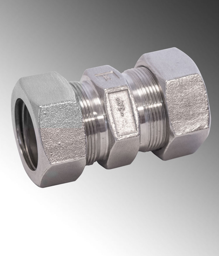 "Mayer-3/4"" SS316 EMT COMP MALE CONNECTOR-1"