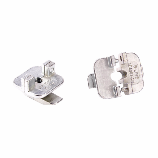 Mayer-4D TRAPEZE HANGER, 2PC TURN AND LOCK, FOR 3/8-IN. ALL THREAD ROD, ZN PLATED-1
