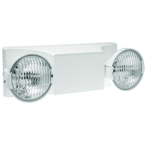 Mayer-EZ-2 Series, Color: White, Number of Lamps: 2, Lamp Type: Incandescent, Voltage Rating: 120/277 VAC, Wattage: 10.8 W.-1