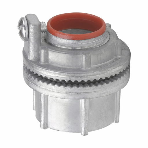 "Mayer-Eaton Crouse-Hinds series Myers ground hub, Zinc, 2""-1"