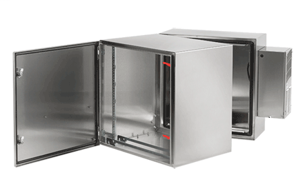 ProTek D-H, Type 4, 4X or 12, 48.54x23.62x31.06, Stainless Steel, Solid, AC