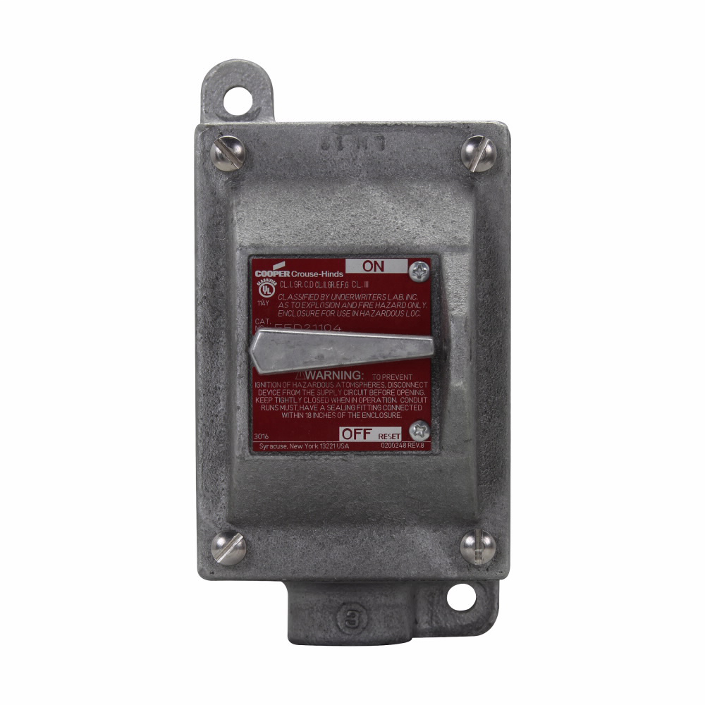 Eaton Crouse-Hinds series EFD circuit breaker