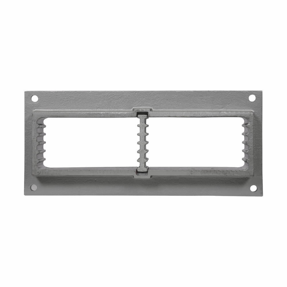 Eaton Crouse-Hinds series Thru-Wall Barrier TWF mounting frame, Malleable iron, 20 spaces available