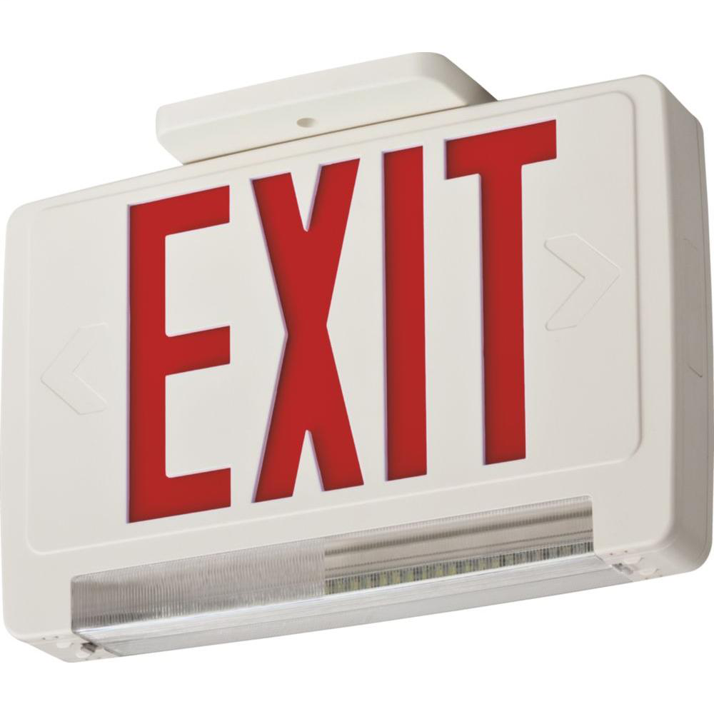 Red, Integrated Exit/Unit Combos, LED, SKU - 210LCV