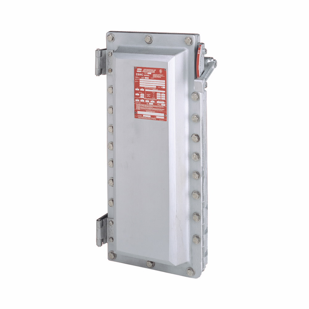 Eaton Crouse-Hinds series EBM disconnect switch, 30A, With switch, Fused, 5 HP/7.5 HP, Copper-free aluminum, Polyphase, 200-600 Vac/250 Vdc
