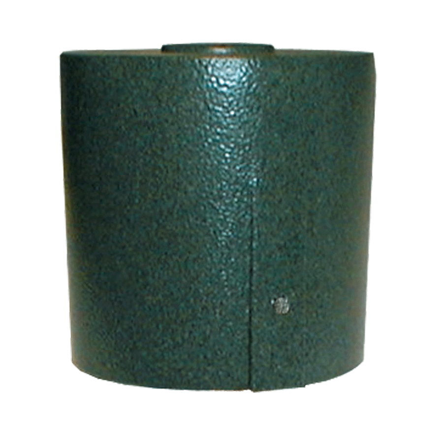 MIGHTY CAP 3 Inch  FITS 2 7/8 Inch  OD PIPE VERDE GREEN