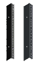 Side, Full Vented, Server Cab., Bulletin DPC (PROLINE DataCom Packages and Components), Size/Dims: fits 2000x900mm, Material/Finish: Steel/Black