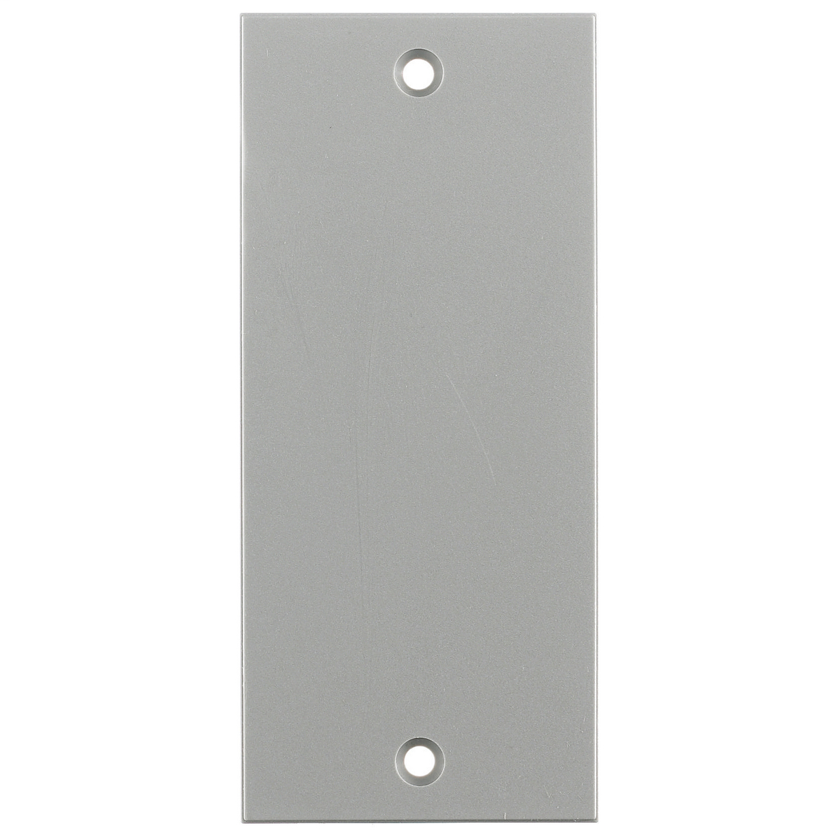 Hubbell Wiring Device Kellems, Floor and Wall Boxes, MULTI-CONNECTSystem, Face Plate, Screw Mount, Blank, Gray