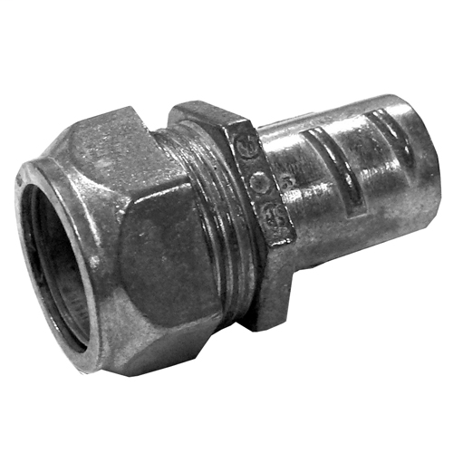 Standard:UL 514B, CSA C22.2, NEMA FB-1, Trade Size:0.75IN, Outside Diameter:1.18IN, Inside Diameter:0.92IN, Length:1.68IN, Flexibility:Metal Conduit,Material:Zinc Die Cast