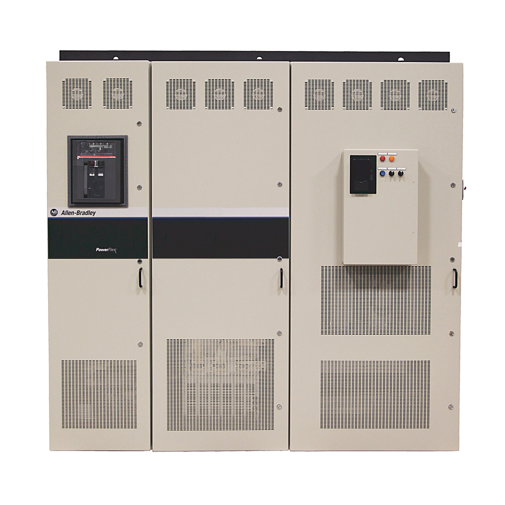 PowerFlex AFE, 480 VAC, 3 PH, 1300A, IP21, Nema/UL Type 1, Rittal Enclosure, AFE with conformal coating, , No HIM (Blank Plate), User Manual, AFE w/ LCL Filter, No Communication Module