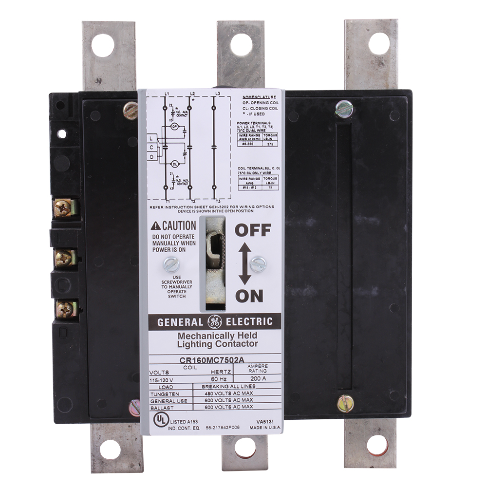 Other power devices. Lighting contactors. 502A2459