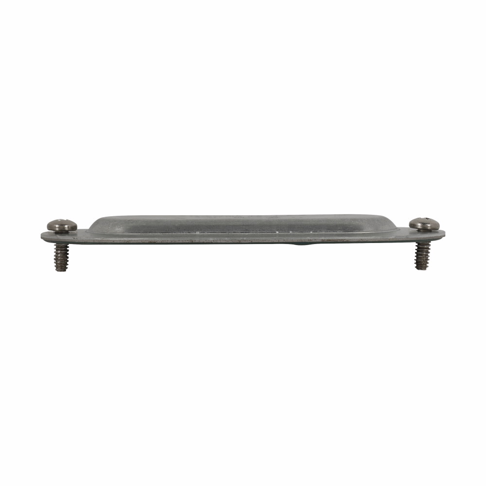 """Eaton Crouse-Hinds series Condulet Form 8 cover with integral gasket, Sheet steel, 3/4"""""""