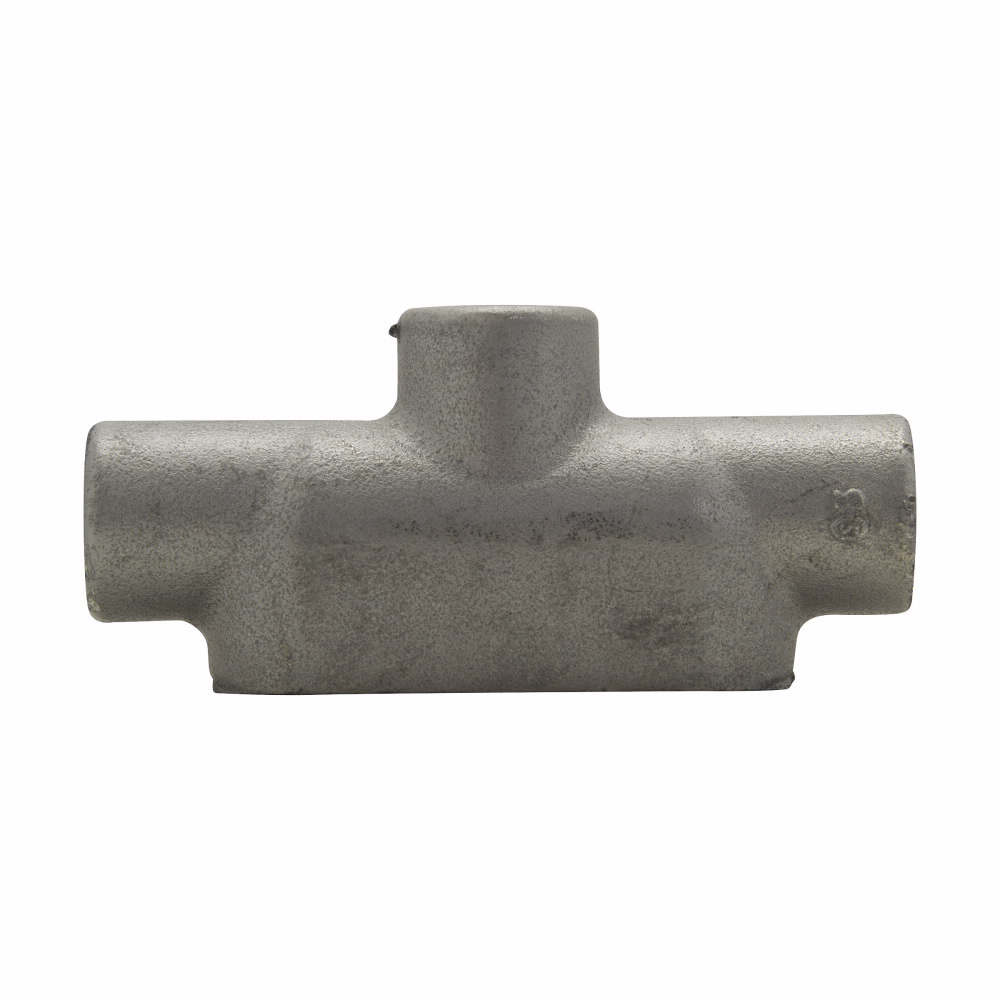 """Eaton Crouse-Hinds series Condulet Form 7 conduit outlet body, Feraloy iron alloy, TB shape, 1/2"""""""