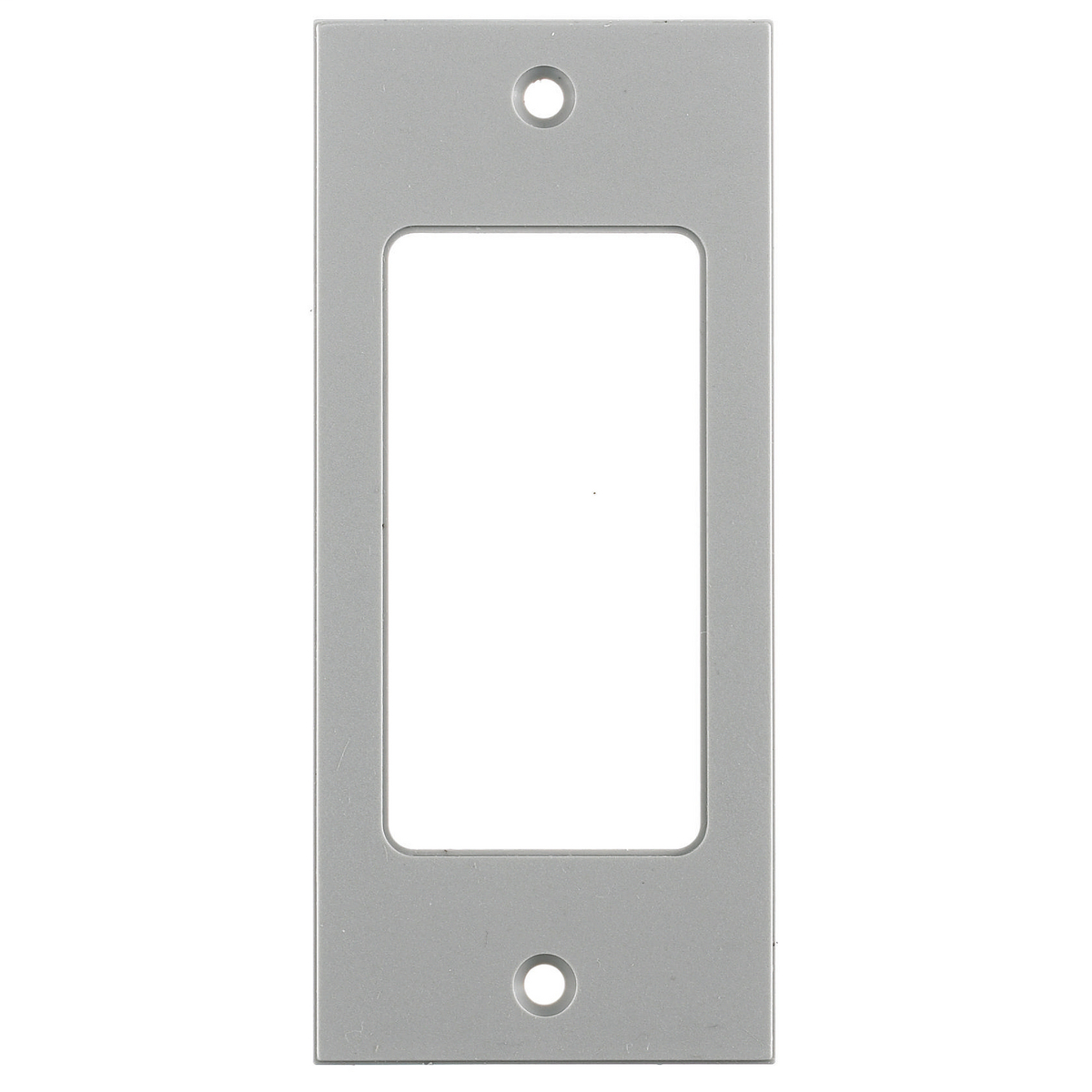 Hubbell Wiring Device Kellems, Floor and Wall Boxes, MULTI-CONNECTSystem, Face Plate, Screw Mount, GFCI, Gray