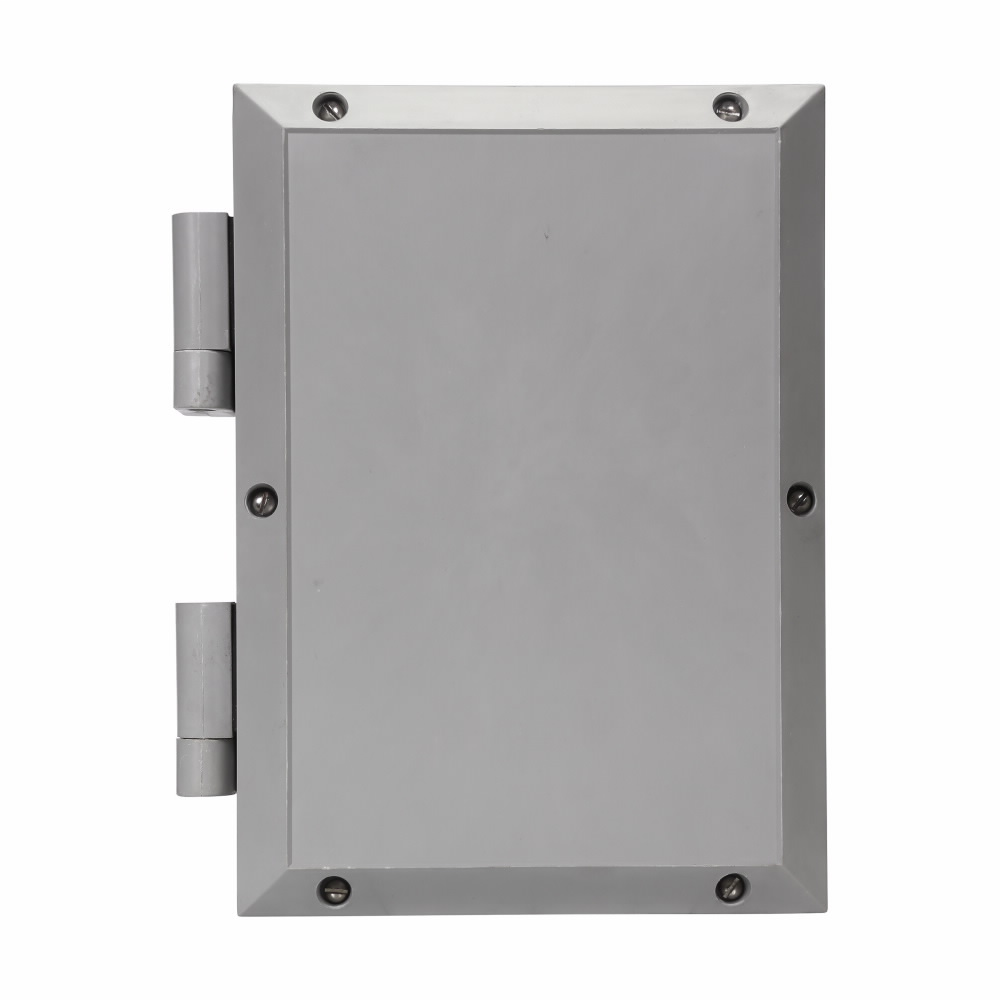 """Eaton Crouse-Hinds series NJB/NCE/NCS/NCD mounting plate, 3-1/4 x 6-3/4"""" enclosure size, Steel"""
