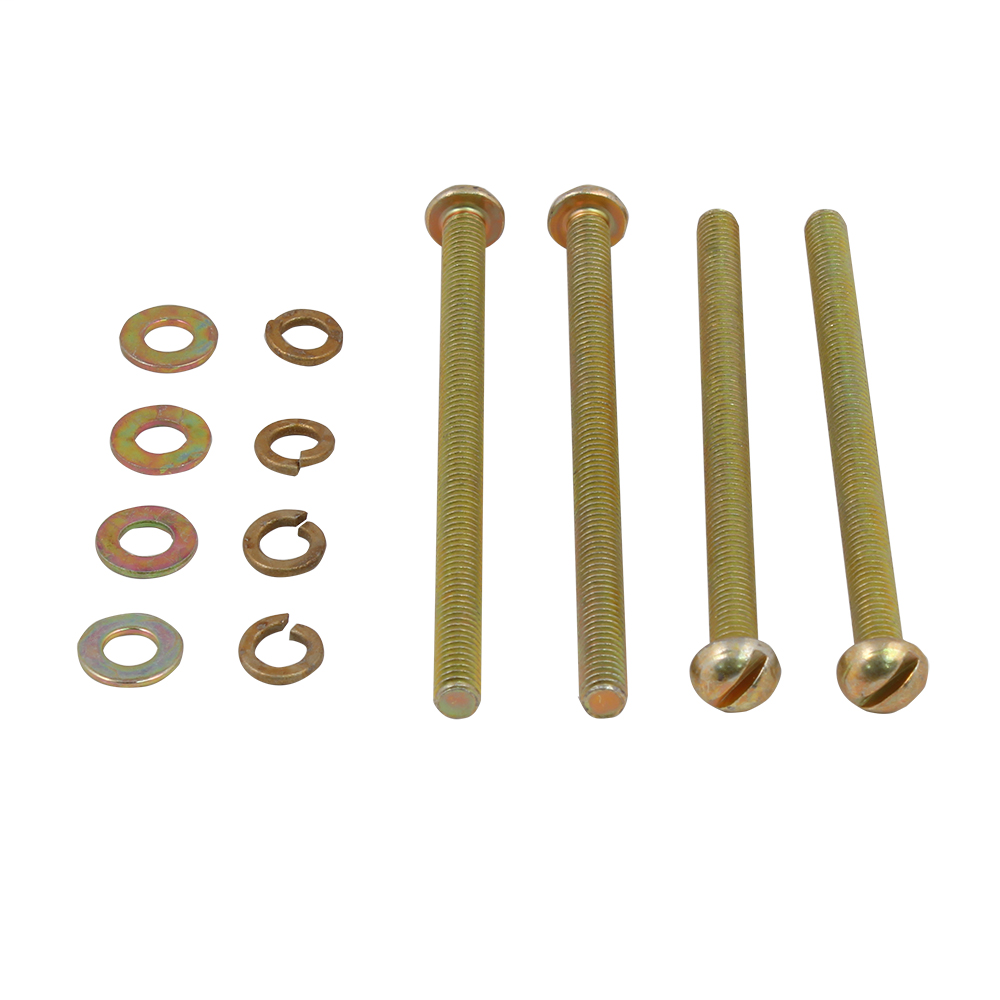 Breaker Mounting Screw Kits. For use on mounting plates with tapped holes (4 screws and lockwashers). SEMSK1