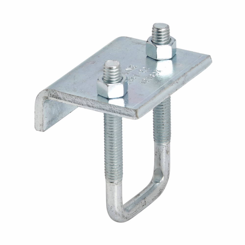 Mayer-BEAM CLAMP, 3/4-IN. MAX FLANGE, FOR 13/16-IN. TO 1 5/8-IN. HIGH CHANNEL, STAINLE-1