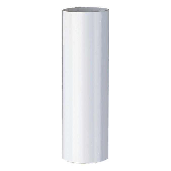 """Plastic Candle Socket Cover White 4"""" Long 24140"""