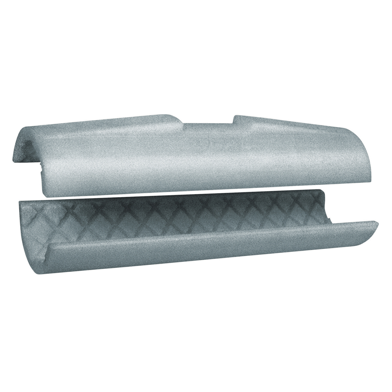Half-Shell Clamp for Conduit