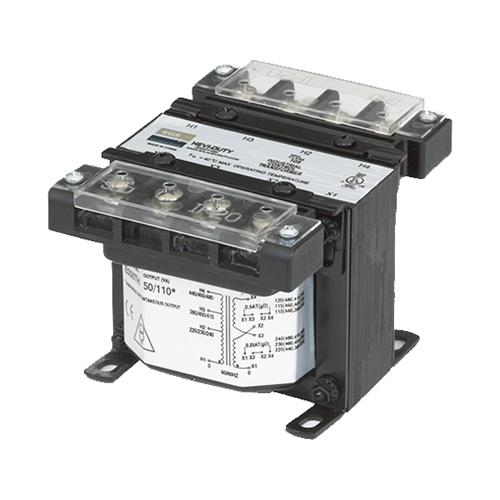 International Series Control Transformer, 250VA, Volts Primary: 240/415, 277/480, 230/400/460, 220/380/440, Volts Secondary: 120/240, 115/230, 110/220, Frequency: 50/60 HZ