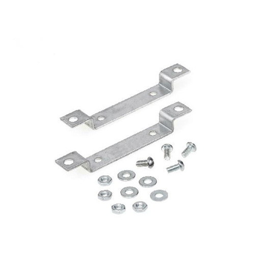 MOUNTING BRACKET, (4) #10-32 TPI SCREWS WITH NUT AND WASHER, USED ON 72C SERIES F CAN INDOOR/OUTDOOR HID BALLAST