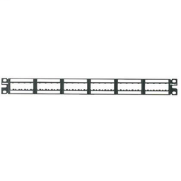 Mayer-24-port Ultimate ID modular patch panel with two label holders-1