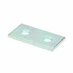 Mayer-TWO HOLE SPLICE PLATE, ZINC PLATED-1