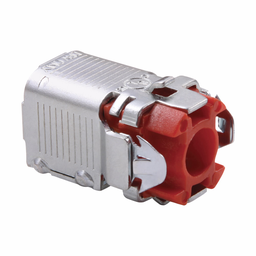 """Mayer-Eaton Crouse-Hinds series Quick-Lok Pro connector, AC/MC and FMC, Single, Steel, 3/8""""-1"""