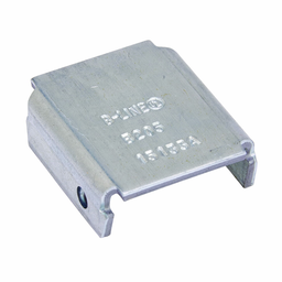 Mayer-CHANNEL END CAP, TYPE X, USE WITH B22 CHANNEL, ZINC PLATED-1