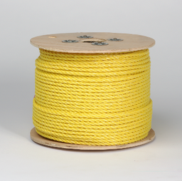 Mayer-3/8X600 FOOT YELLOW POLY ROPE 83008-1
