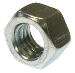 Mayer-Hexagon Nut, Hardened Steel construction, Zinc Plated finish, 5 grade, 1/4-20 in. Size, 100 per pack-1