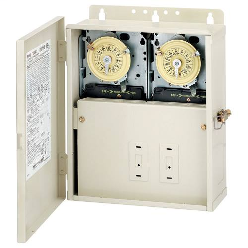 T10404R | 30 A Power Center with Two T104M Mechanisms
