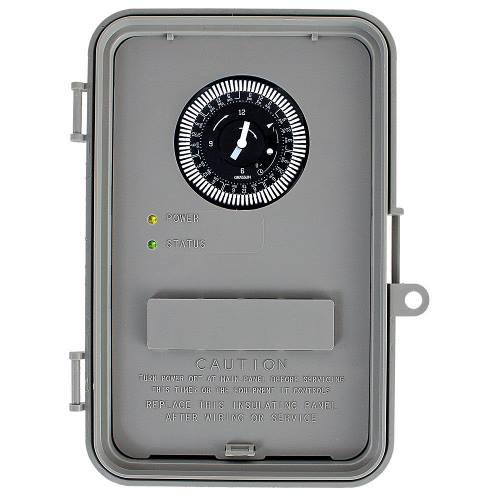 WHAVQ7 | 24-Hour/7-Day with Battery Backup Autovoltage Electric Water Heater Timer