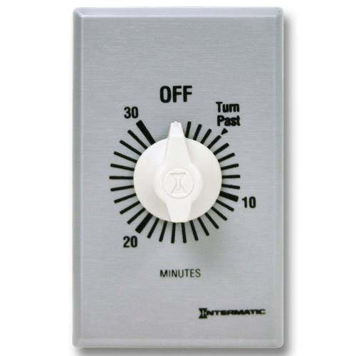 Intermatic FF30MC 30 Minute 125 to 277 VAC 60 Hz SPST Countdown Timer
