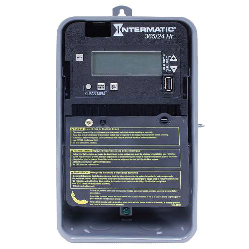 INTERMATIC 24-Hour/365 Day Basic Plus Electronic Control