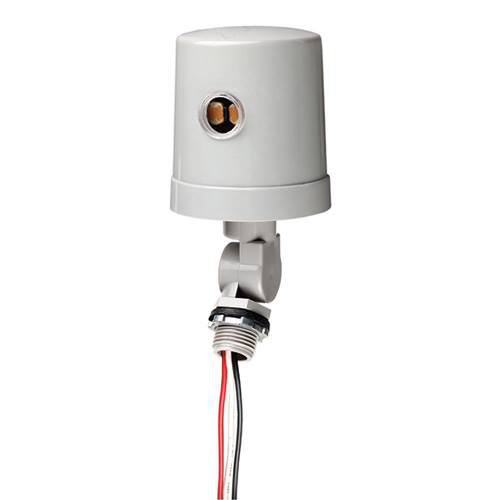 Intermatic K4236C 120 to 277 VAC 50/60 Hz 1800 to 4150 W Stem and Swivel Mount Thermal Photocontrol