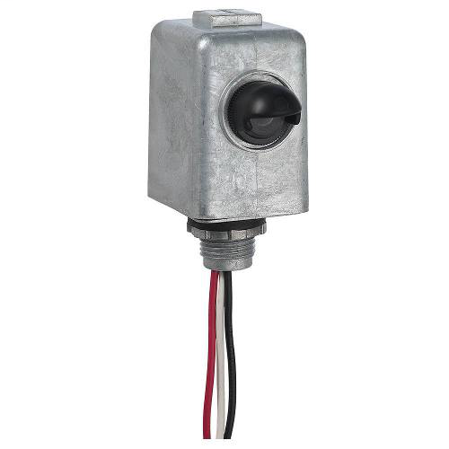 Metal Stem Mount Electronic Photocontrol, 120-277 V