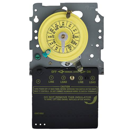 24-Hour Mechanical Time Switch - Mechanism Only