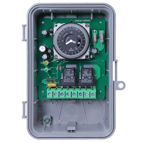 INTM GM40AV MULTI VOLTAGE GENERAL PURPOSE TIME SWITCH 40 AMP 24 HOUR