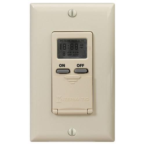 INTM EI500C 7-DAY IVORY WALL BOX TIMER
